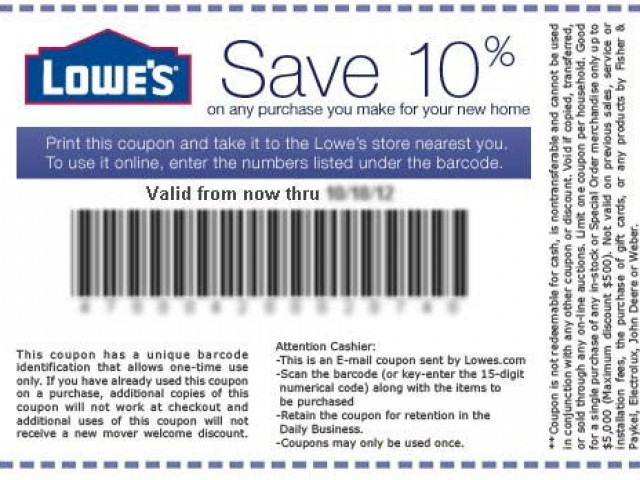 Finding Lowes Coupons Printable Online Coupon Codes Blog