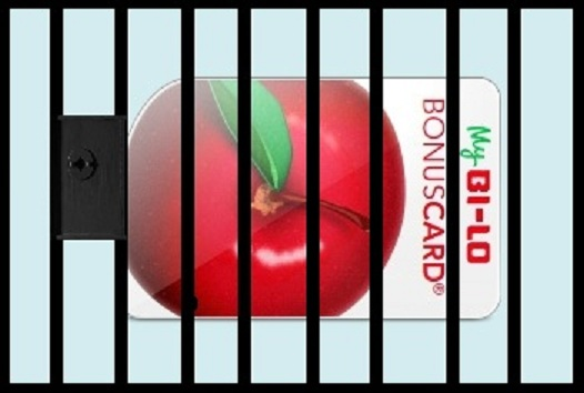Bi-Lo card prison