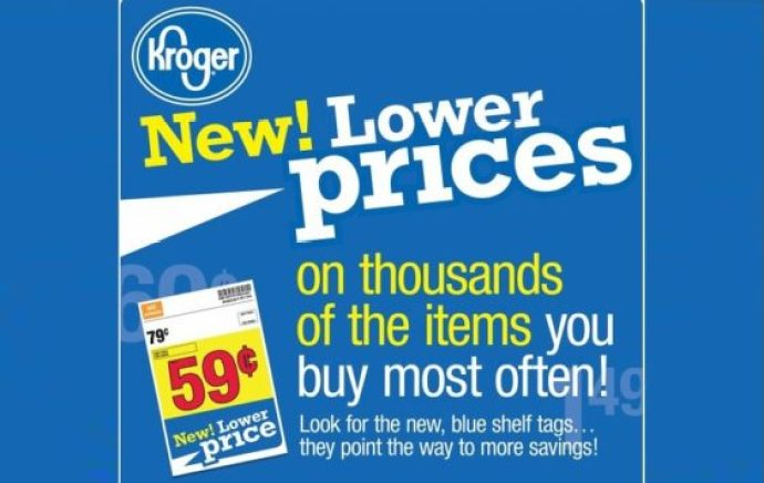 Kroger New Lower Prices