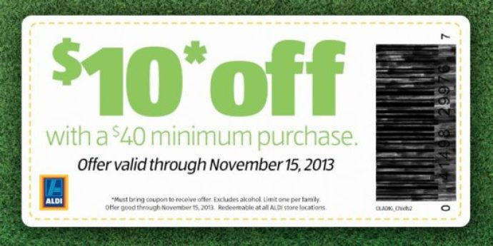 ALDI coupon