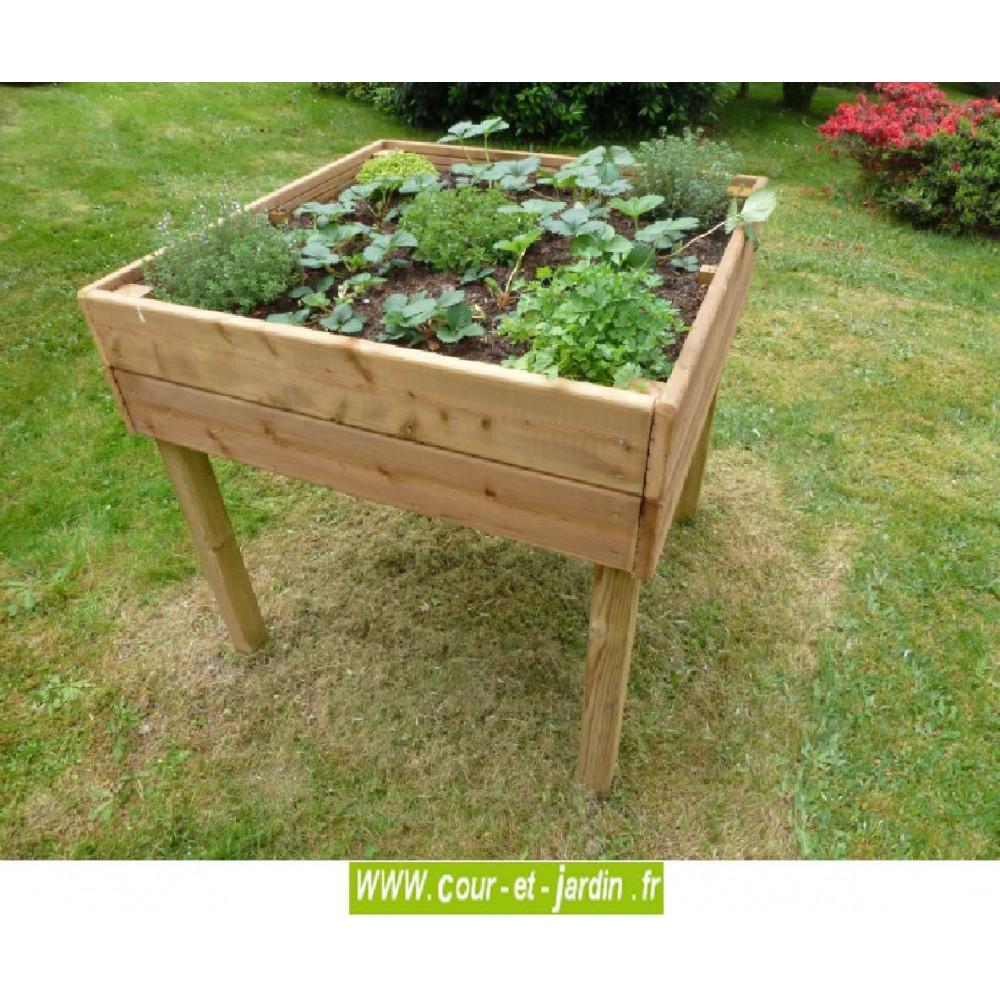 Bois Jardin Carré | Table Encastrable Pliante Leclerc Encastrables ...