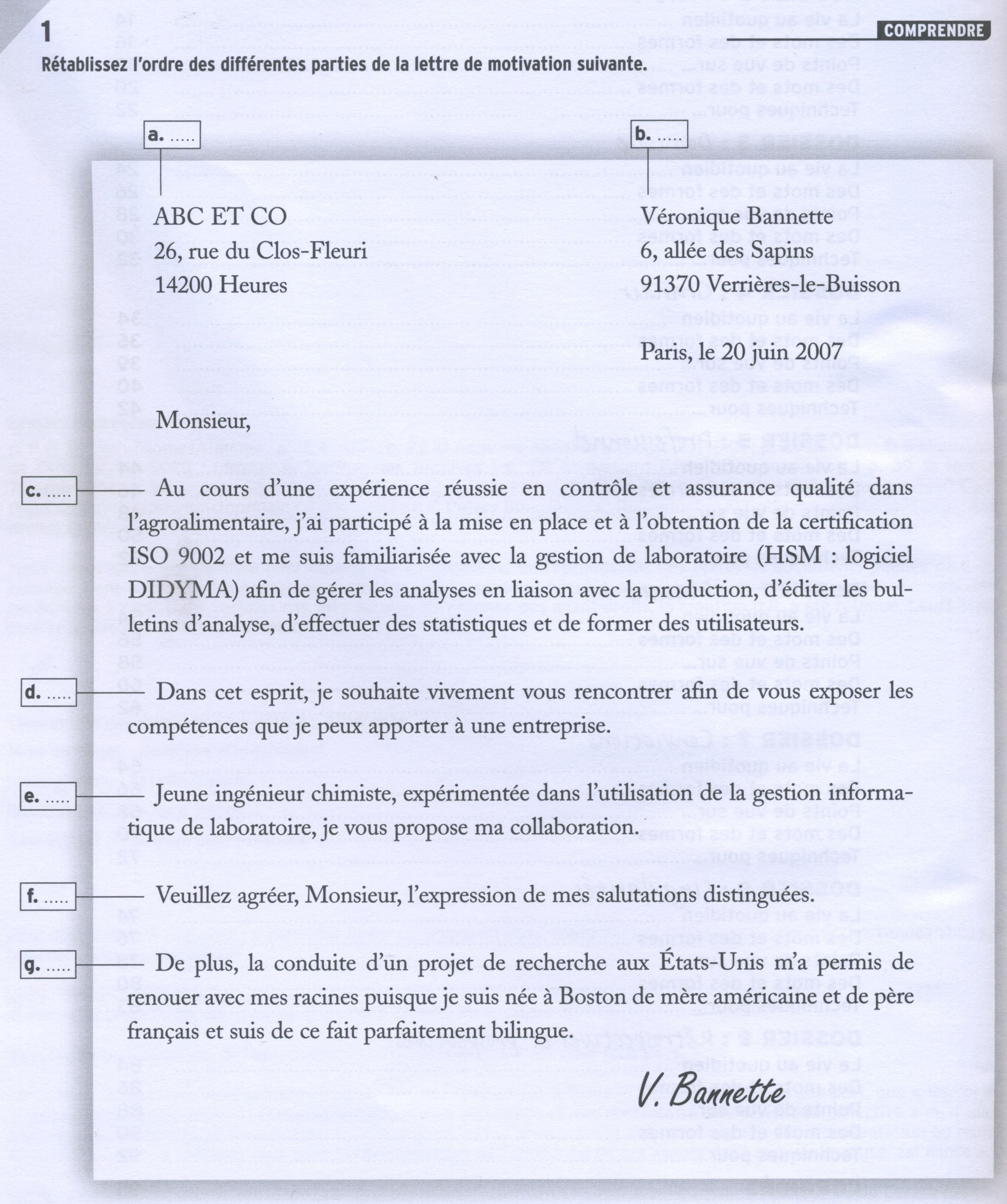 squelette lettre administrative