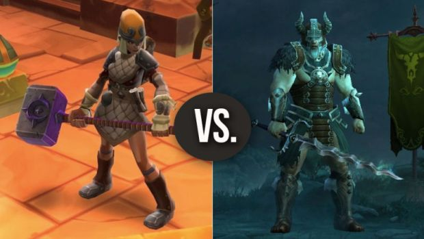 Torchlight versus Diablo, Which one has more character and who will look dated in ten years?