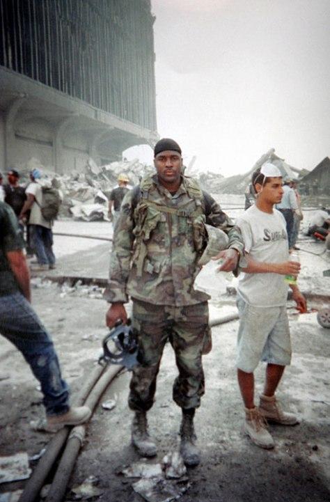 Jason Thomas at WTC Sept 2001
