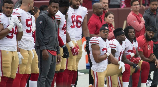 NFL tells players patriotism is more important than protest – here's why that didn't work during WWI