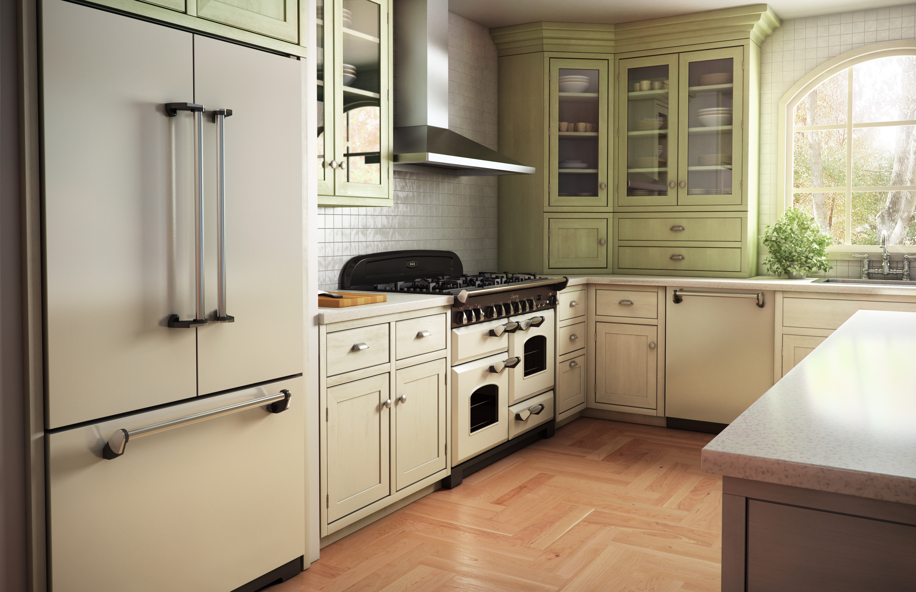 All White Kitchens With White Appliances What 39s Wrong With White Appliances