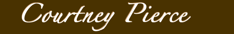 Courtney Pierce Name Logo