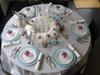 New Years Eve Dinner Party Table Setting | Courtney Out Loud