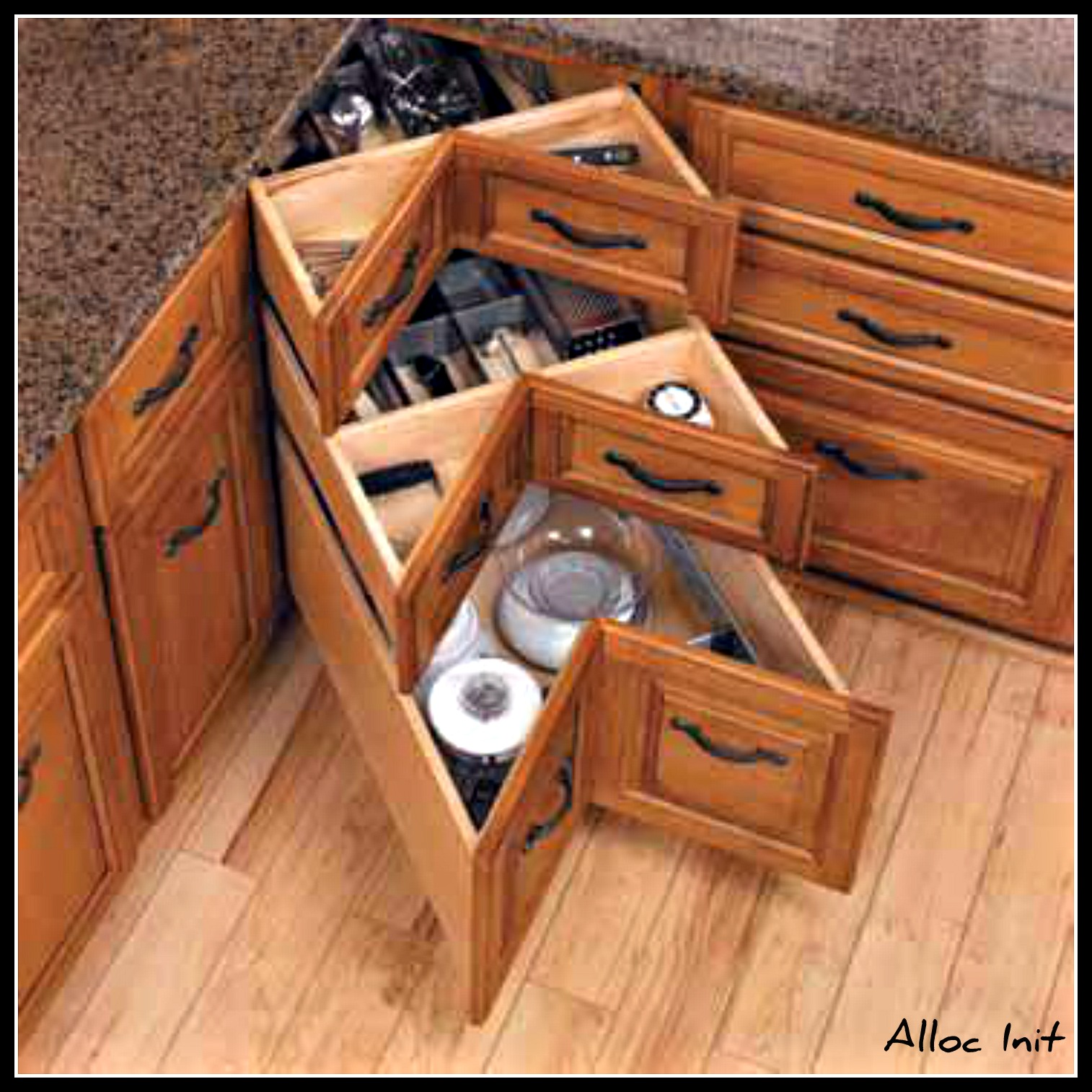 Corner Drawer Kitchen Cabinet Corner Cabinets Courtney Out Loud