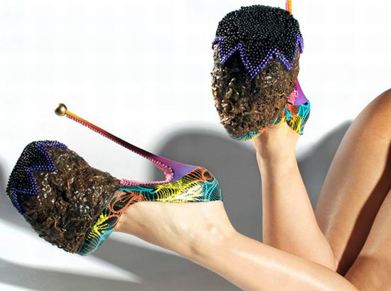 Frog Poop Heels | Couture Jade: Shoes