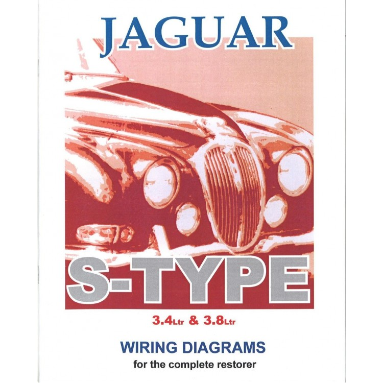 Jaguar S-Type Exploded Wiring Diagram Book (9195)