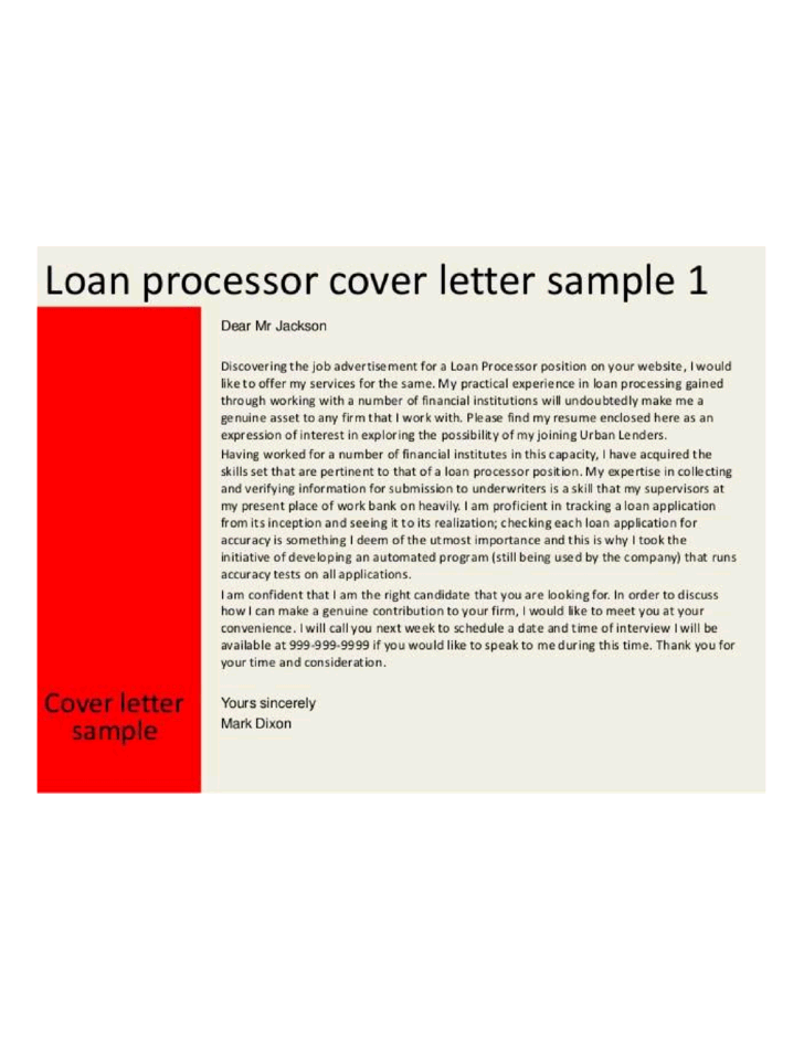 cover letter word processor