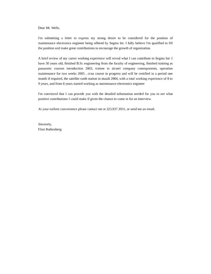Sample Resume For Vlsi Design Engineer | Cv Writing Kerry