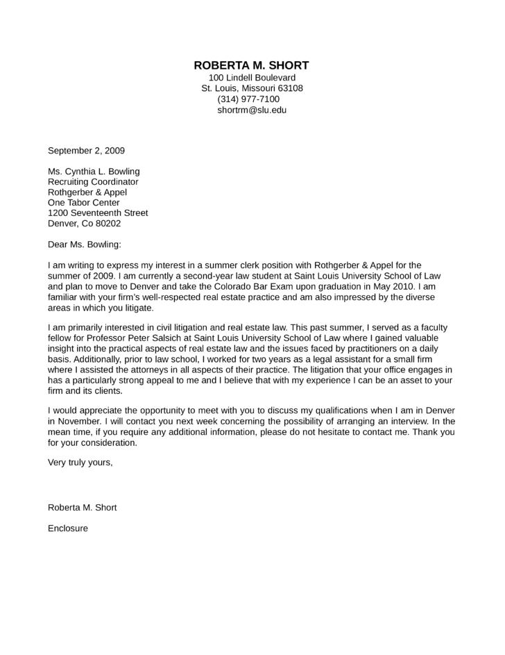 unit clerk cover letter