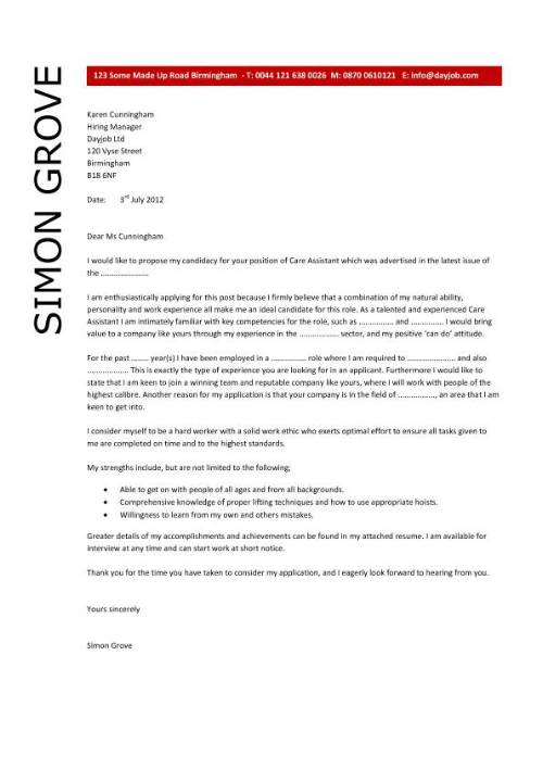 resume cover letter for aged care resume cover letter and interview tips for aged care workers