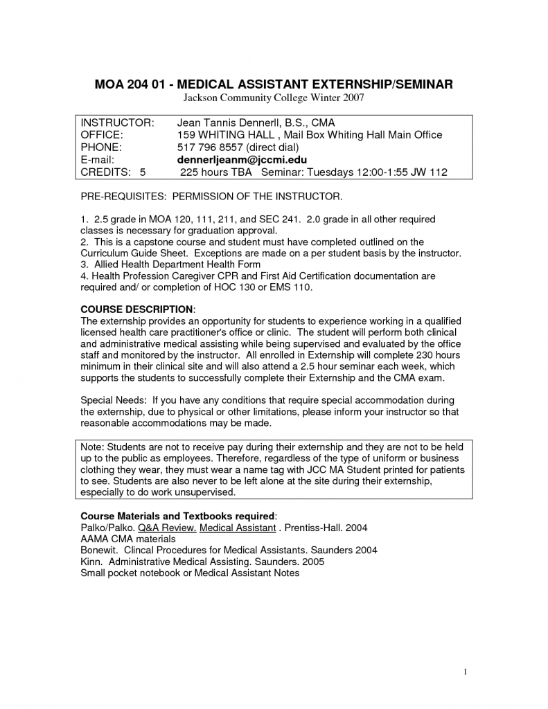 sample resume for medical assistant instructor professional sample resume for medical assistant instructor resume samples our collection of resume examples medical assistant