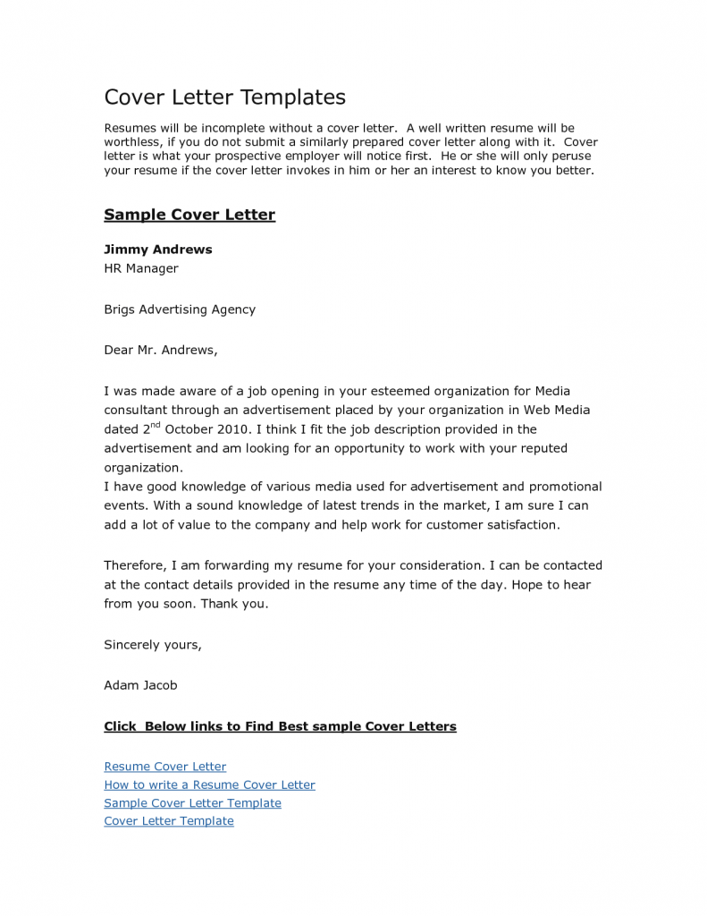 free cover letter format cover letter format government jobs samples cover letter samples templates 791x1024 free - Cover Letters For Government Jobs
