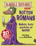 Horrible Histories Rotten Romans Board Game Amazon Co Uk