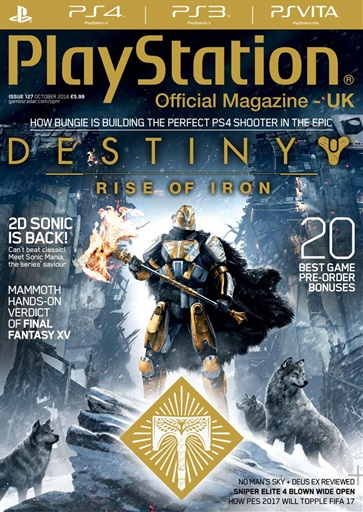 Playstation Official Magazine (UK Edition) - October 2016 Subscriptions | Pocketmags