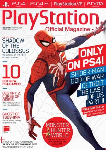 Playstation Official Magazine (UK Edition) - Xmas 2017 Subscriptions | Pocketmags