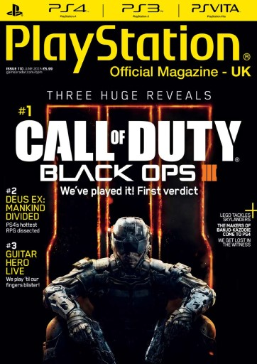Playstation Official Magazine (UK Edition) - June 2015 Subscriptions   Pocketmags