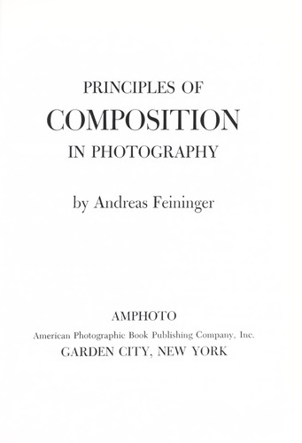 Principles of composition in photography Open Library - principles of photography