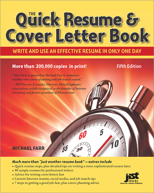 The Quick Resume  Cover Letter Book, 5th Edition - O\u0027Reilly Media