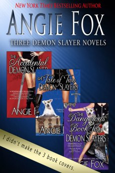 Three Demon Slayer Novels by Angie Fox