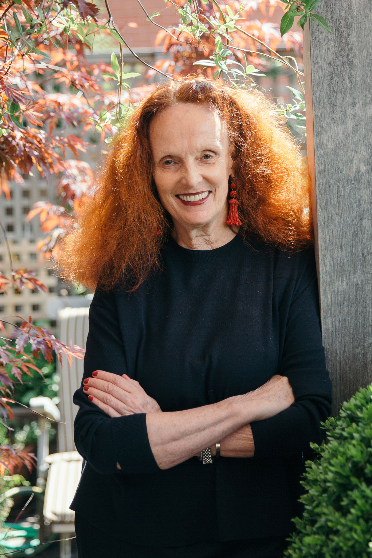 Closet Depth Grace Coddington On What It Takes To Be Her Assistant