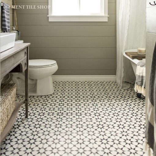 Console Castorama Modern Farmhouse Project: The Powder Room « Covet Living