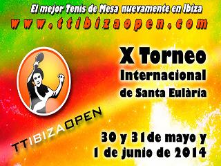 X torneo Internacional de tenis de mesa