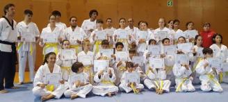 El taekwondo lleva a cabo el primer examen en Formentera