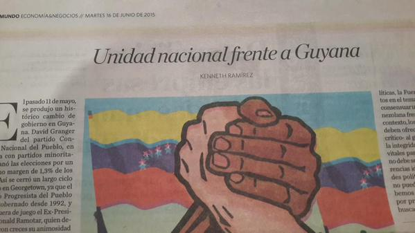Unidad Nacional Frente a Guyana – Por Kenneth Ramírez