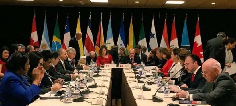 Grupo de Lima rechaza una intervención militar en Venezuela – Por Eloy Torres Román