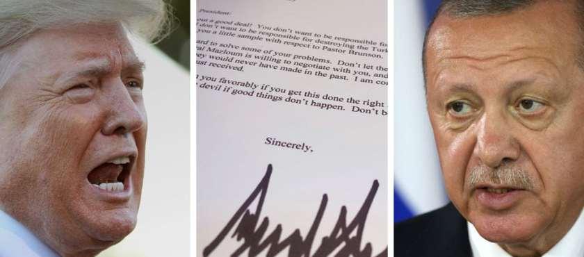La vergonzosa carta de Trump a Erdogan – Por Alon Ben Meir