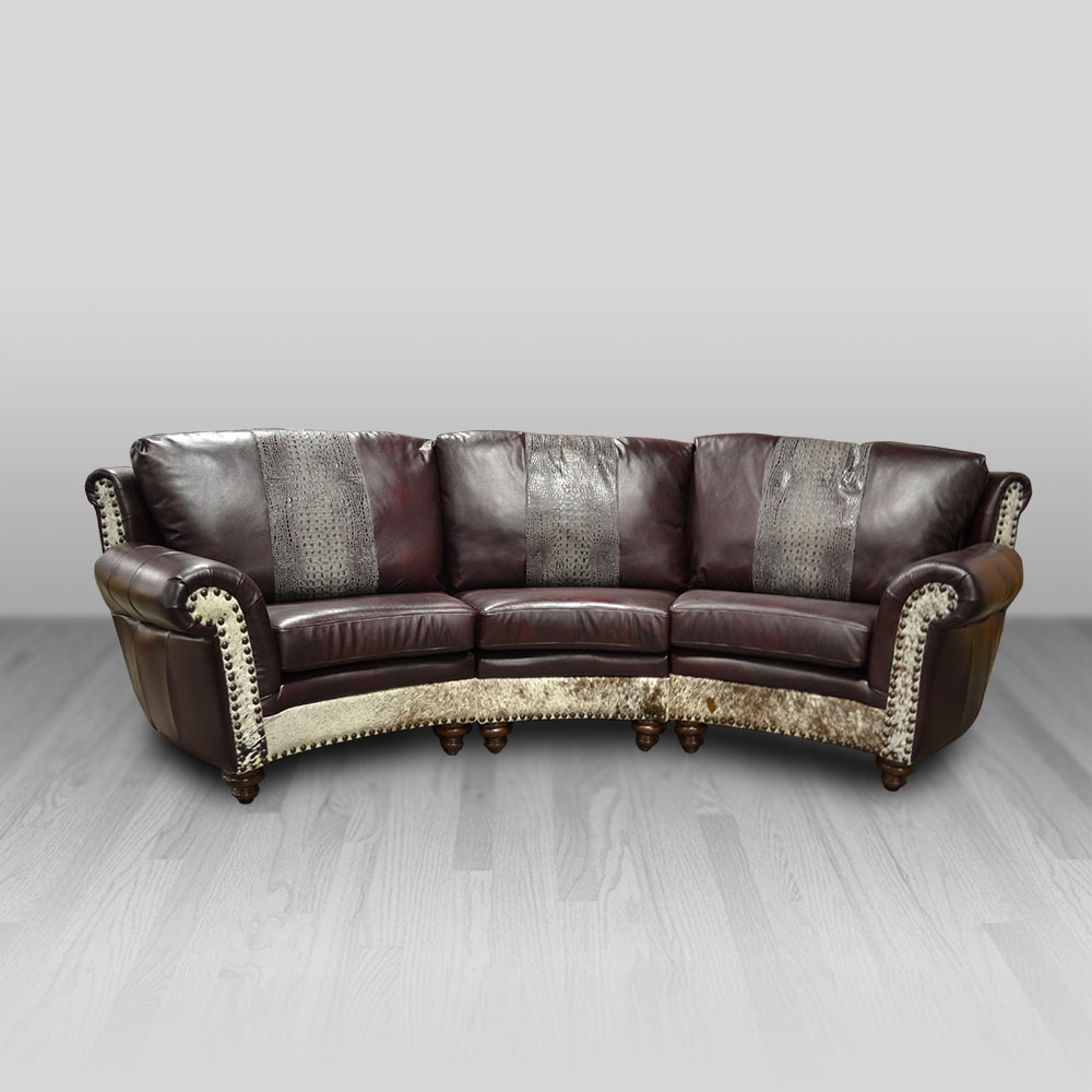 Curved Sofa Highlander Curved Sofa 3 Seat