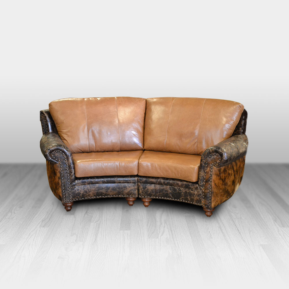 Curved Sofa Highlander Curved Sofa 2 Seat