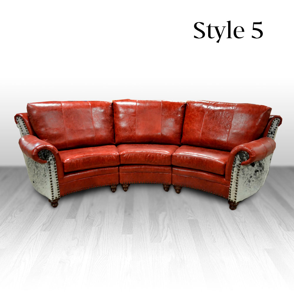 Curved Sofa Highlander Theater Curved Sofa