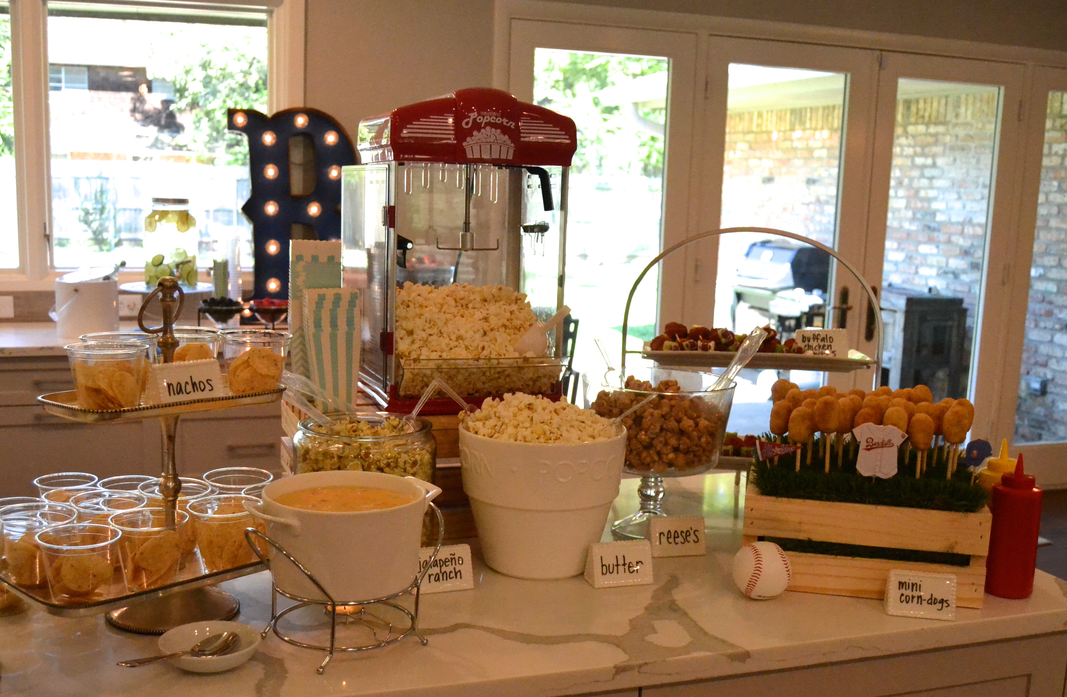 Sports Theme Baby Shower Cowtown Cook