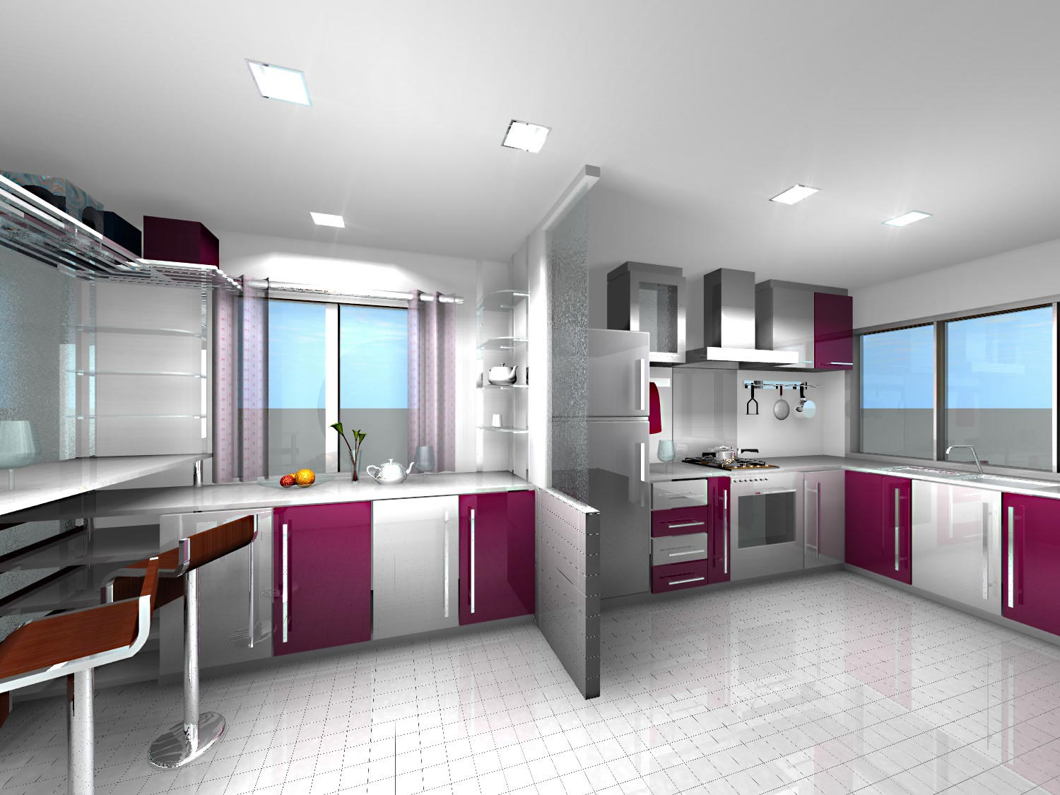 Design Kitchen Set Minimalis Modern Fotos De Cozinhas Decoradas
