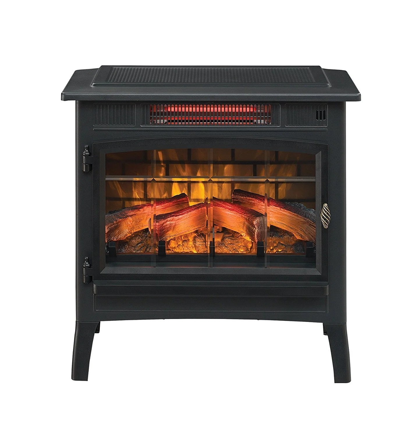 Space Heaters Fireplace Duraflame Portable Infrared Electric Fireplace Stove Dfi 5010
