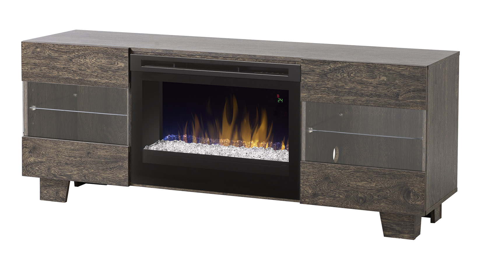Dimplex Max Media Console Electric Fireplace Gds25ld 1651cw