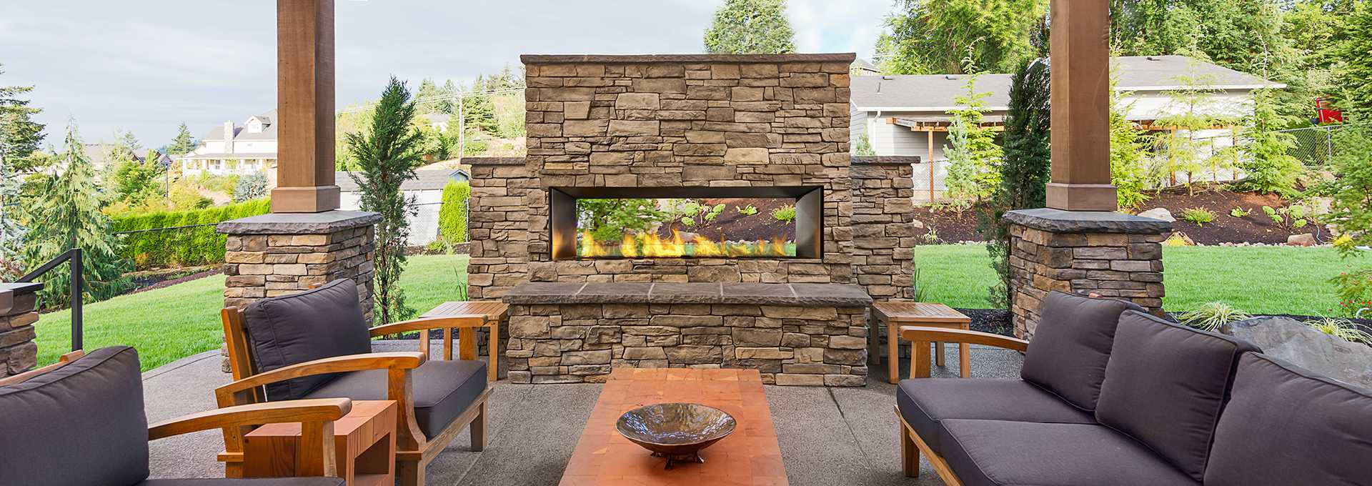 Regency Horizon Hzo60 Outdoor Gas Fireplace Toronto Best