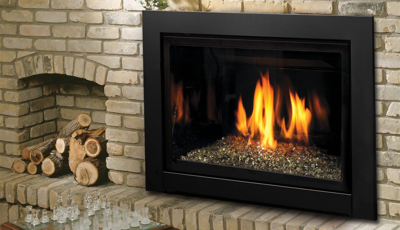 Kingsman Idv33 Idv43 Direct Vent Gas Fireplace Inserts