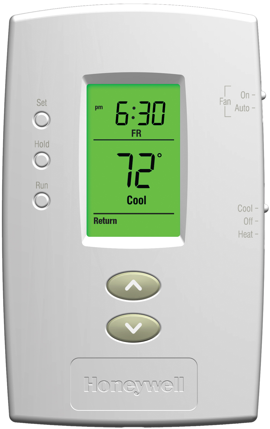 Honeywell Programmable Thermostat Honeywell Pro 2000 5 2 Day Programmable Thermostat