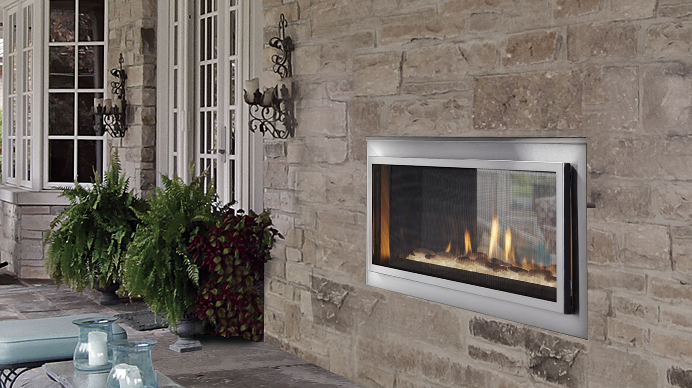 Majestic Outdoor Fireplace Buy Majestic Mezzanine See Through Gas Fireplace Toronto