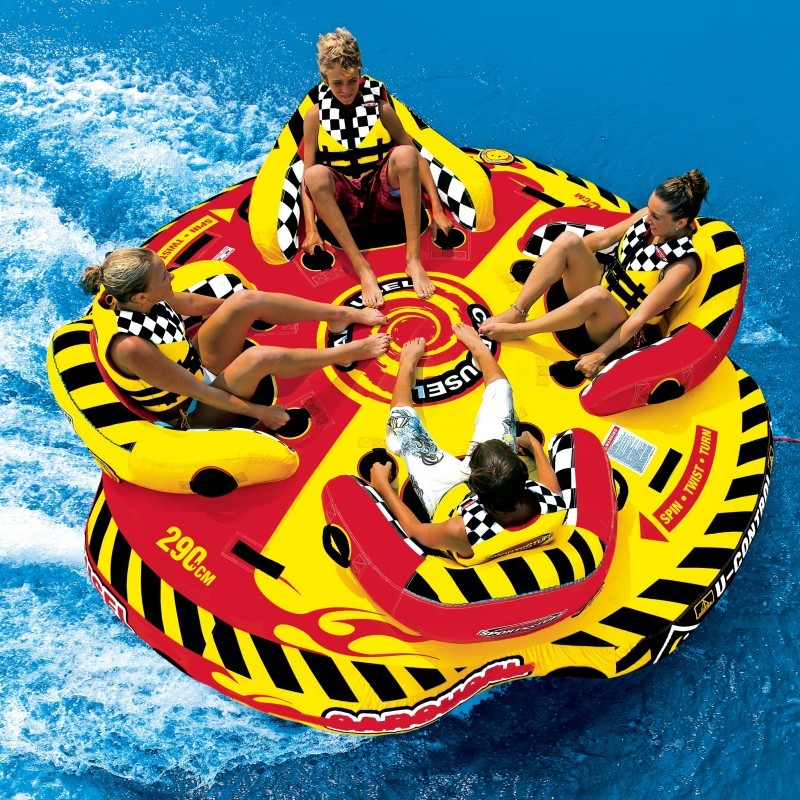 Intex Spa En Zwembad Carousel Towable Round Raft For 4 Riders Sp53-2285 | Cozydays
