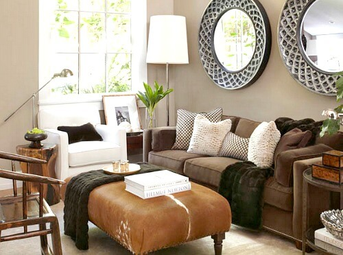Ideas For Small Living Room Furniture Arrangements Cozy