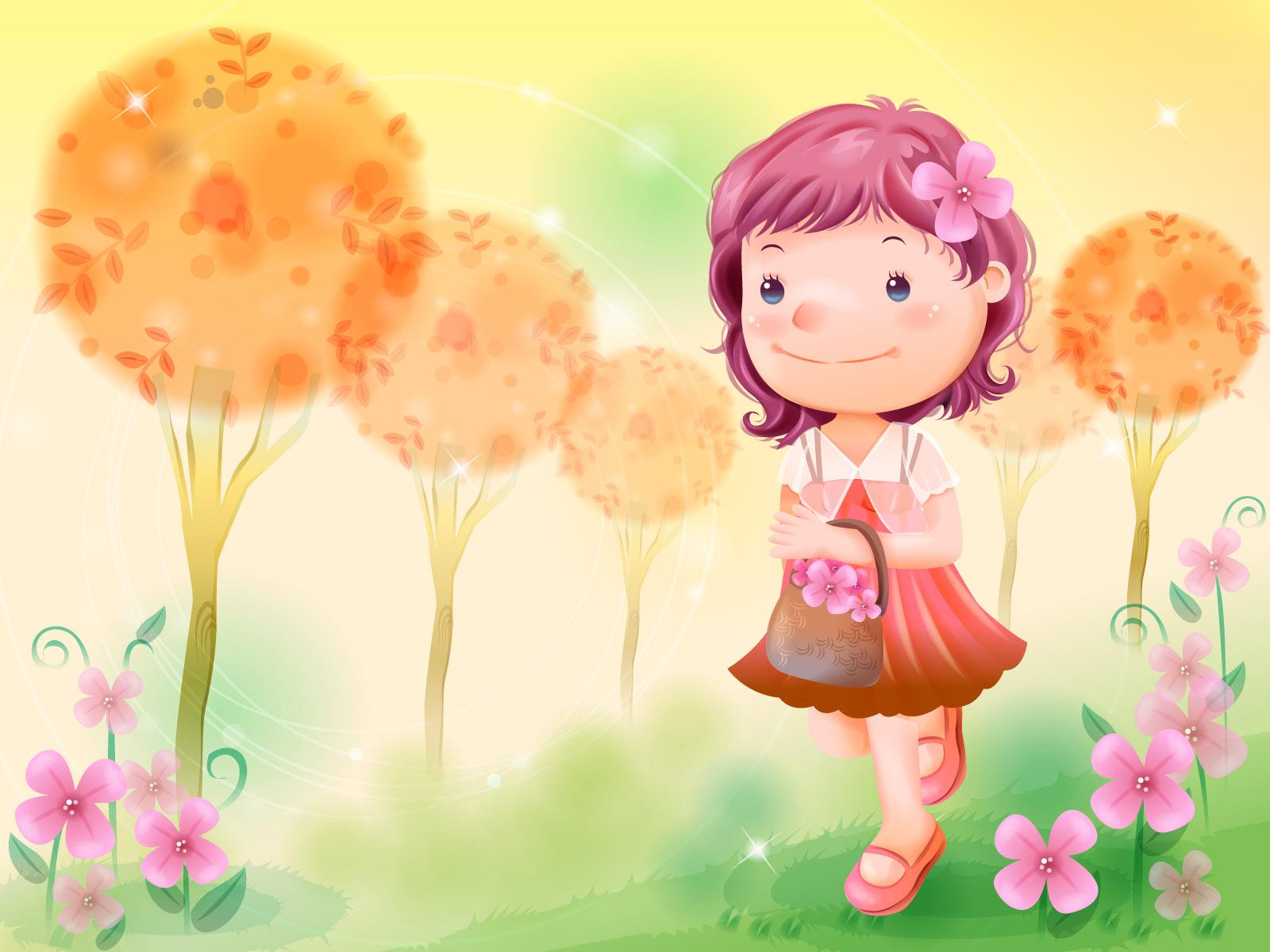 Cute Girly Girl Wallpapers Иллюстрации для детей 161 фото 187 Страница 2 187 Картины