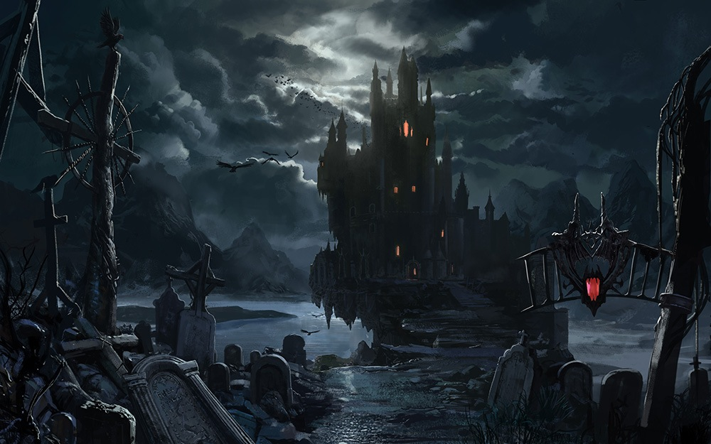 Black And White Tree Wallpaper Once Upon A Time Castle Of Darkness In Need Of Heroes And Monsters 187 Rp